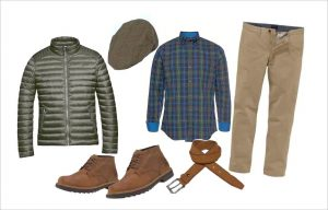 lässiges Herbst-Outfit Nature